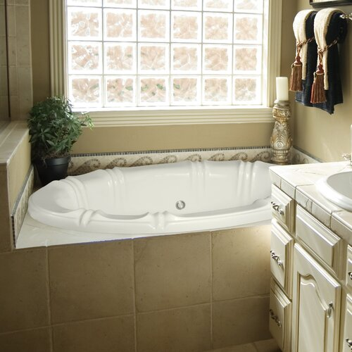 "Hydro Systems Designer Alyssa 66"" x 42"" Air Tub with Thermal System"