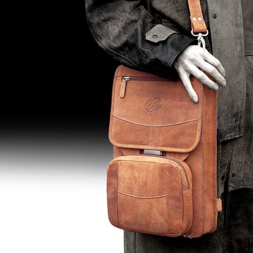Premium Leather Flight Case Briefcase