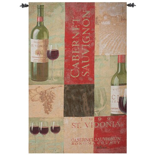 Manual Woodworkers & Weavers Sonoma Cabernet Tapestry