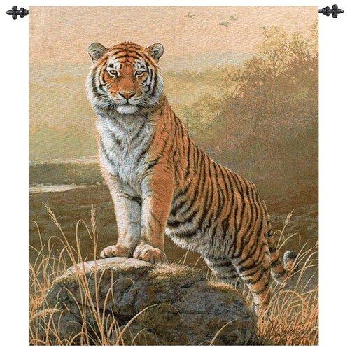 Manual Woodworkers & Weavers Regal Tiger Tapestry