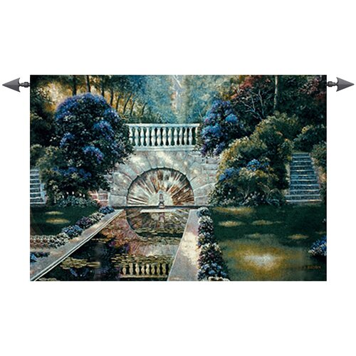 Manual Woodworkers & Weavers Reflecting Pool Tapestry