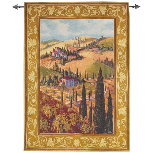 Manual Woodworkers & Weavers Tuscan Hillside Tapestry