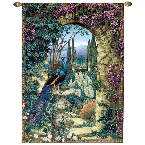Manual Woodworkers & Weavers The Secret Garden Tapestry