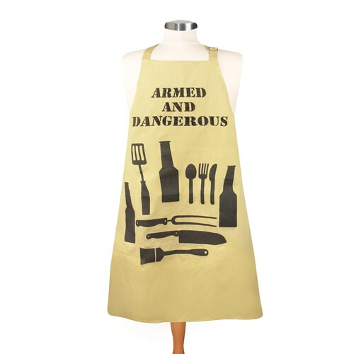 Manual Woodworkers & Weavers Armed and Dangerous Men's Apron