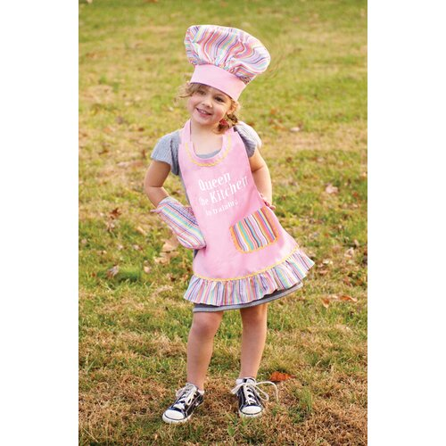 Izzy Queen of the Kitchen Child's Apron