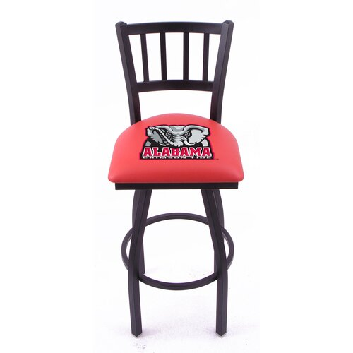 "Holland Bar Stool NCAA 30"" Bar Stool with Cushion"
