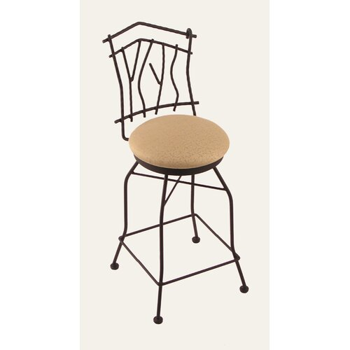 "Holland Bar Stool Aspen 25"" Swivel Bar Stool with Cushion"