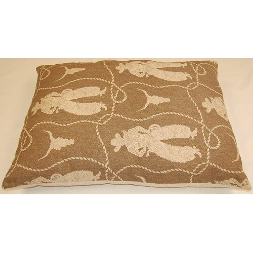 Buckaroo Dog Pillow