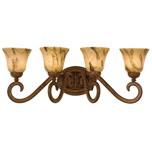 Kalco Santa Barbara 4 Light Bath Vanity Light