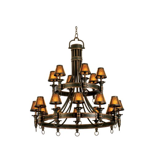 Americana 18 Light Chandelier