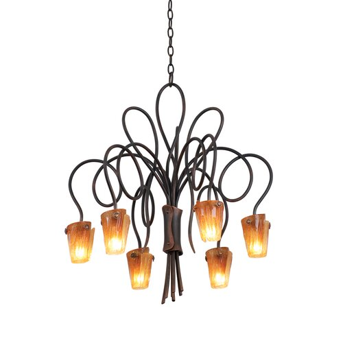 Tribecca 6 Light Chandelier