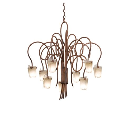 Kalco Tribecca 9 Light Chandelier