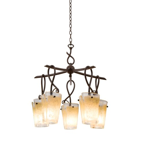 Kalco Preston 5 Light Chandelier
