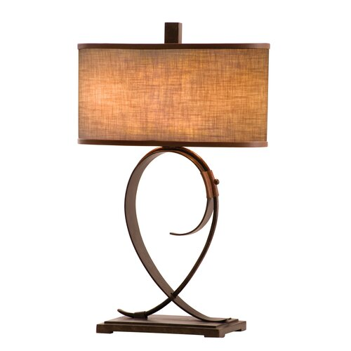 """Kalco Rodeo Drive 31"""" H Table Lamp with Drum Shade"""