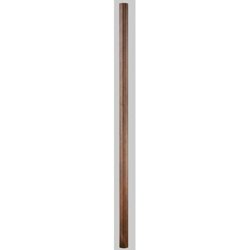 "Kalco Outdoor Universal 84"" Ribbed Straight Post"