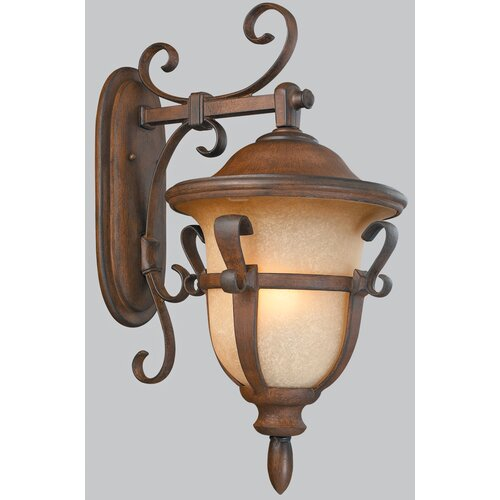 Kalco Tudor 4 Light Outdoor Wall Lantern