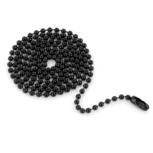 West Coast Jewelry Wide Steel Connector Ball Chain