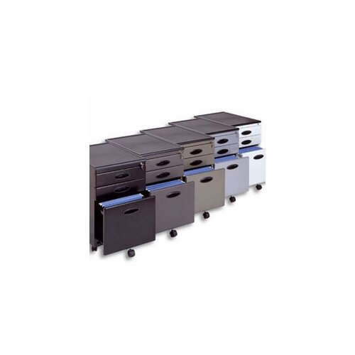 Studio RTA 3-Drawer Mobile File Cabinet