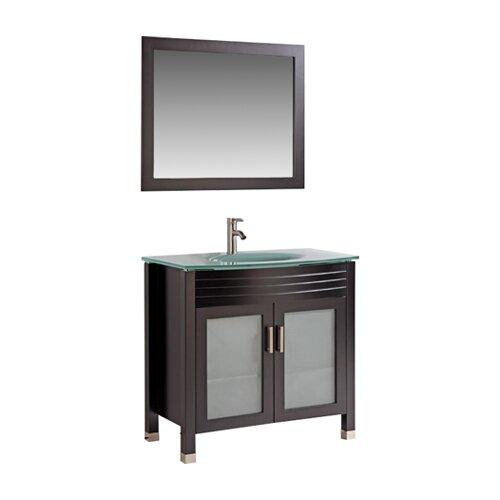 "36"" Bathroom Vanity Set with Mirror"