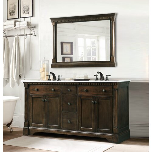 Legion furniture 60 double bathroom vanity set reviews - Wayfair furniture bathroom vanities ...