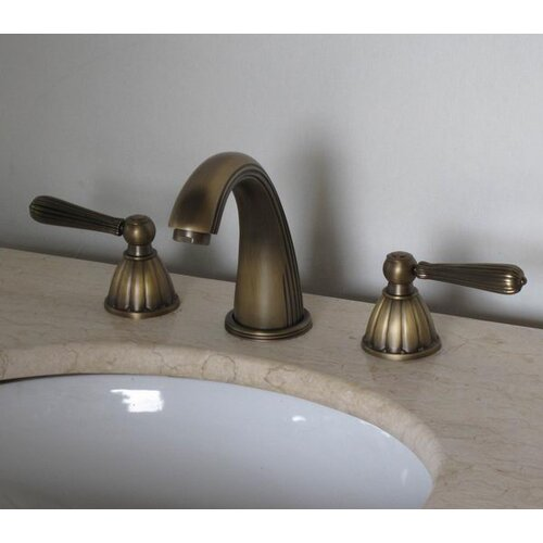 Legion Furniture Widespread Bathroom Faucet with Double Handles