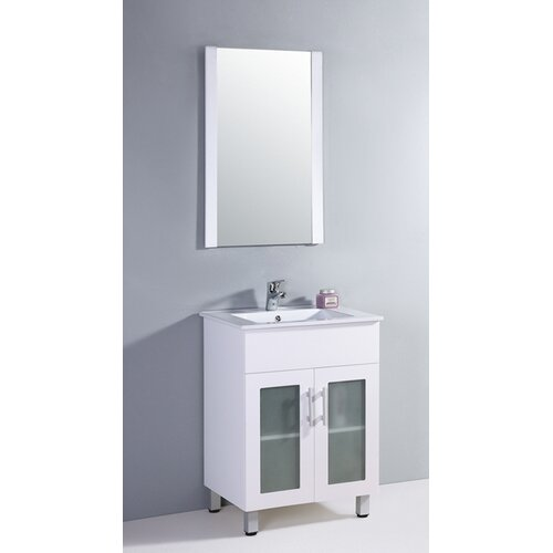 "Legion Furniture 24"" Vanity Set with Mirror"