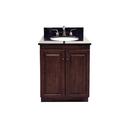 "Legion Furniture 24"" Single Sink Vanity Base with Soft Close Doors"