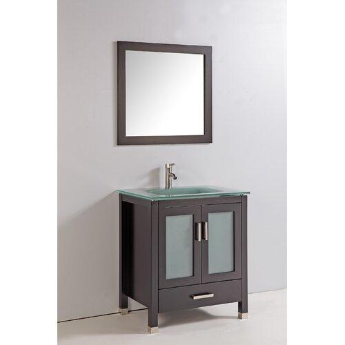"30"" Bathroom Vanity Set with Mirror"