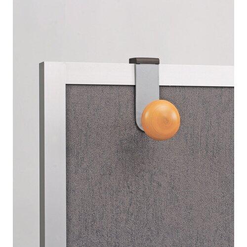 Alba Over-The-Panel Single Adjustable Coat Hook