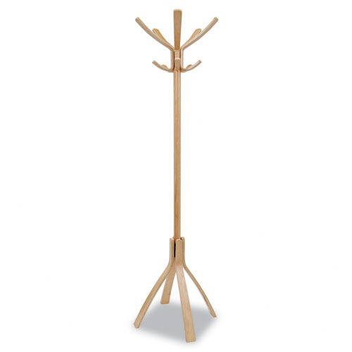 Alba Cafe Wood Coat Stand
