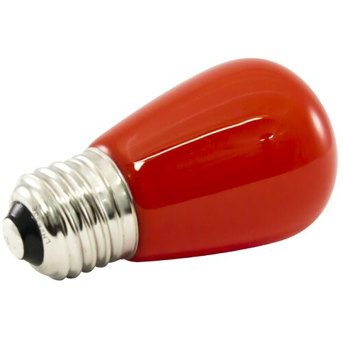 1 4W Red Frosted 120 Volt LED Light Bulb Wayfair