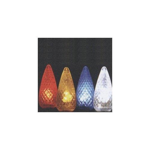 American Lighting LLC C9 Twinkle Intermediate Base Light Bulb