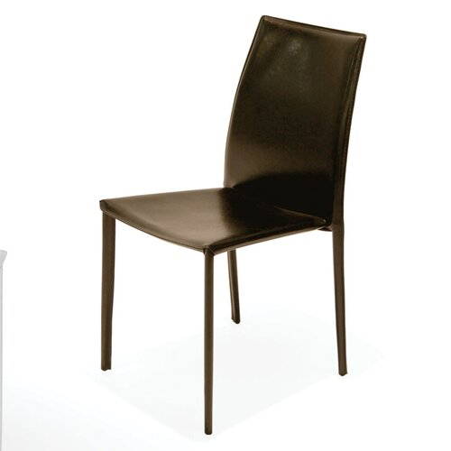 Bonded Leather Stacking Chair