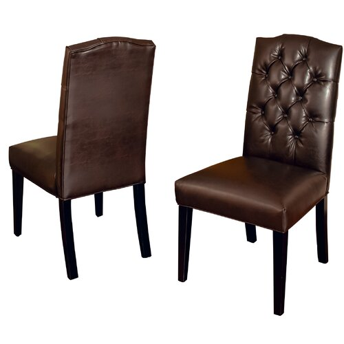 Home Loft Concept Carrigan Crown Top Dining Chair (Set of 2)
