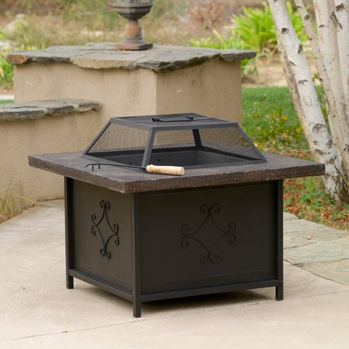 Home Loft Concept Lestar Outdoor Copper Fire Pit