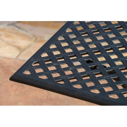 Home Loft Concept Stanza 5 Piece Cast Aluminum Outdoor Dining Set