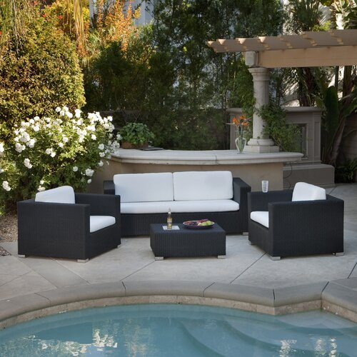 Kawaii Outdoor 4 Piece Seating Set
