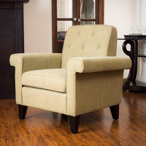 Home Loft Concept Salerno Button Tufted Club Chair