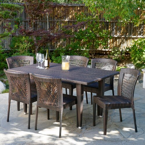 home loft concept luminti 7 piece outdoor dining set