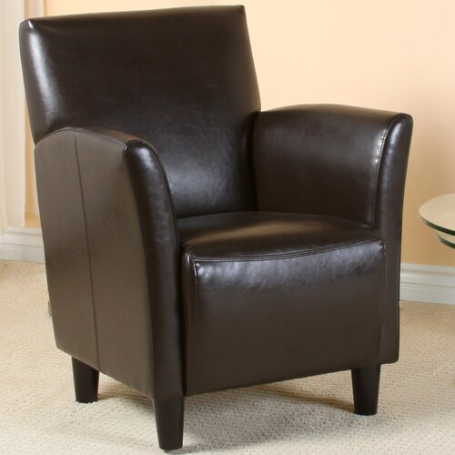 Home Loft Concept Lawson Bonded Leather Club Chair