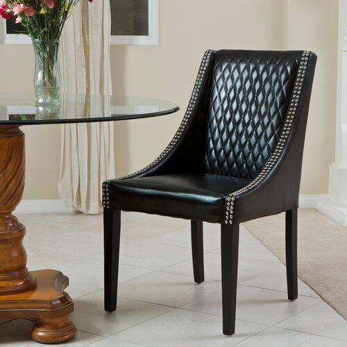 Chandler Quilted Leather Chair (Single)
