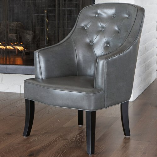 Home Loft Concept Hoboken Chamois Fabric Chair