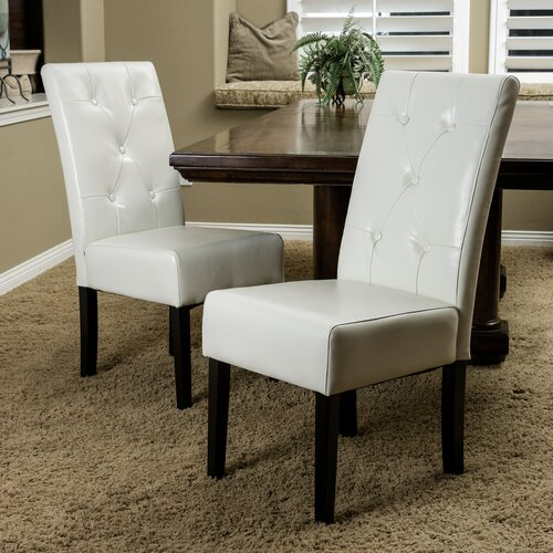 Home Loft Concept Victor 5-Tufted KD 2pk Dining Chair (Set of 2)