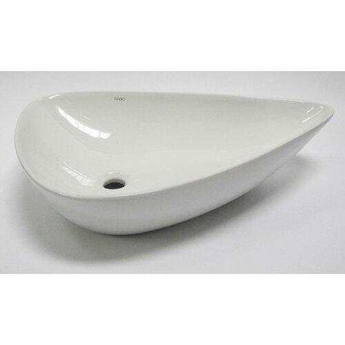 EAGO Tear Drop Vessel Bathroom Sink