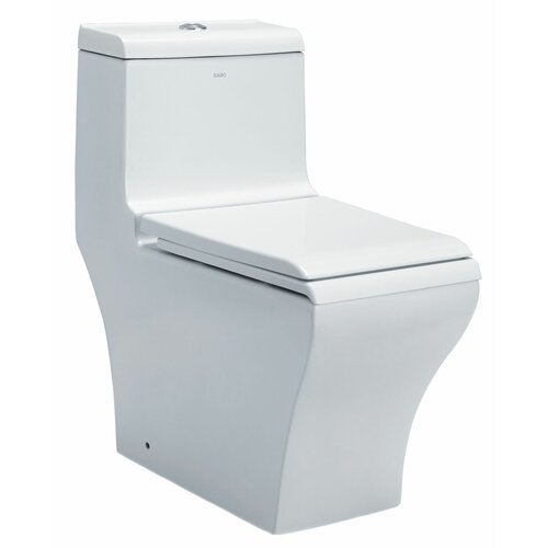 Dual Flush Toilet 1 Piece