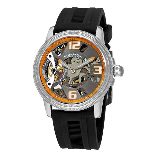 Stuhrling Original Men's Brumalia Protégé Mechanical Round Watch