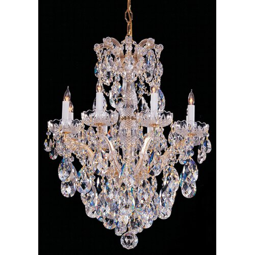 Maria Theresa 8 Light Candle Chandelier