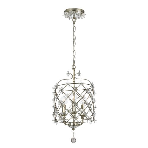 Crystorama Willow 3 Light Outdoor Foyer Lantern