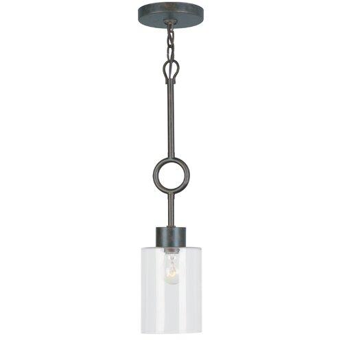 Crystorama Odette 1 Light Pendant