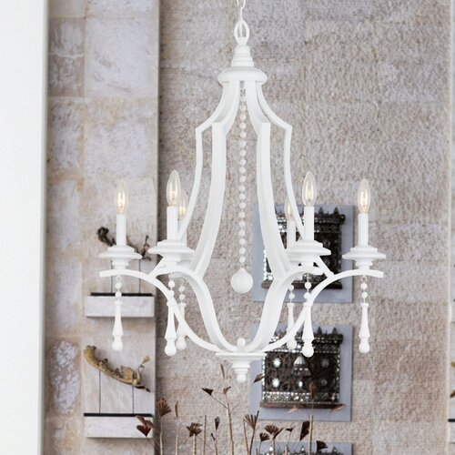 Crystorama Parson 6 Light Chandelier